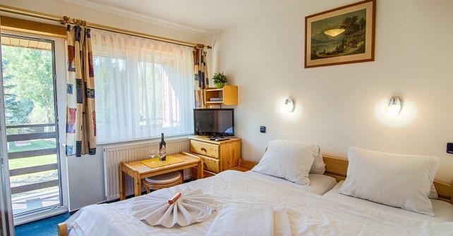 Pokoj č. 2 – 2 lůžkový