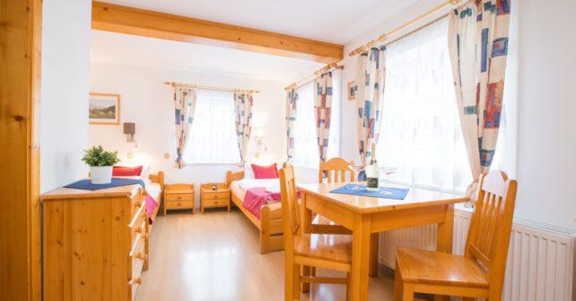 Pokoj č. 1 – 3 lůžkový
